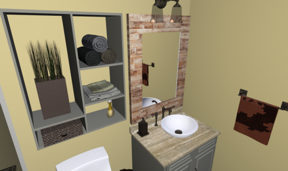 Custom Shower Design with 3D Rendering