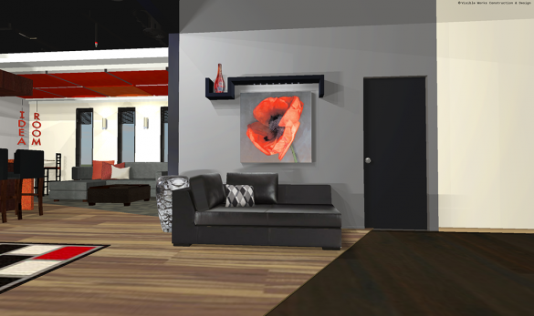 Commercial 3D Rendering Design